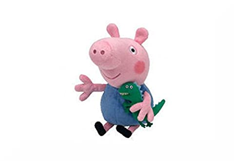Genuine TY Licensed Beanie Peppa Pig + Inspirational Magnet