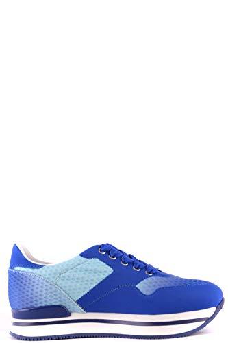 Hogan Sneakers Donna Mcbi37393 Camoscio Blu