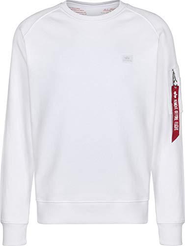 Alpha Industries X-Fit Sweatshirt Weiß S -