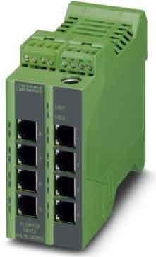 Phoenix Contact Ethernet Lean Managed FL Switch LM 8TX Switches Netzwerk Switch 4046356078382 -