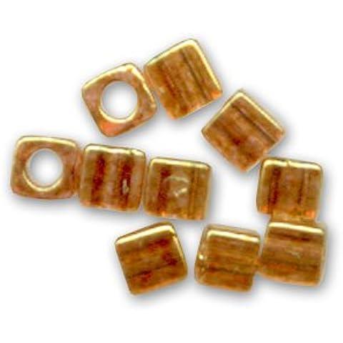 Cubi Miyuki mm. 1.8 SB18-0311 - Topaz Gold Luster x10g