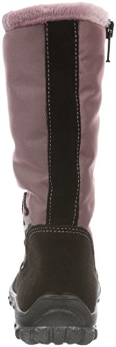 Ricosta Mitzi -S-, Bottes courtes avec doublure chaude fille Rose - Pink (Cafe/Candy 280)