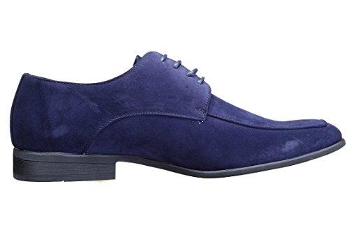 Goor Chaussure Derbie Dt01s Dan Marine Bleu
