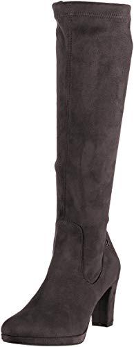 Tamaris Damen 25522-21 Hohe Stiefel, Grau (Graphite 206), 41 EU
