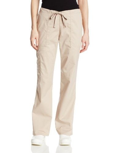 Cherokee Kordelzug Uniform (Cherokee Uniforms CORE-Stretch Damenhose (XL (50/52), Khaki))