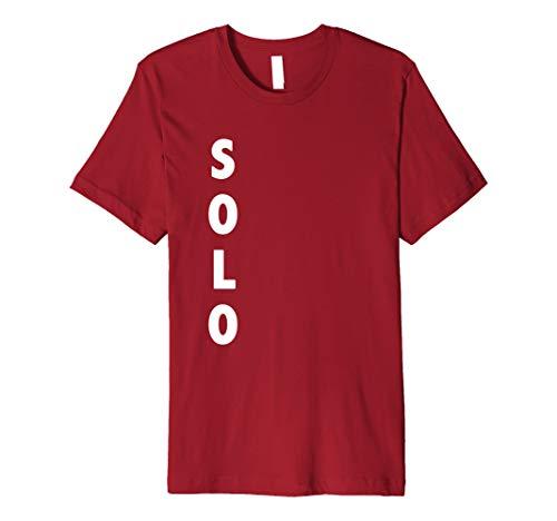 (Funny Solo Rot Tasse Halloween-Kostüm | Bier trinken Shirt)