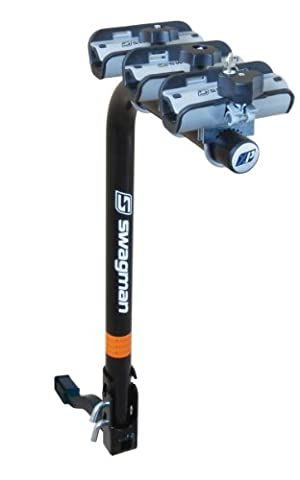 Swagman XP Fold Down 3-Bike Hitch Mount Rack (2-Inch Receiver) by Swagman Bicycle Carriers