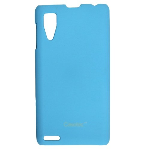 Casotec Ultra Slim Hard Shell Back Case Cover for Lenovo P780 - Ocean Blue  available at amazon for Rs.125