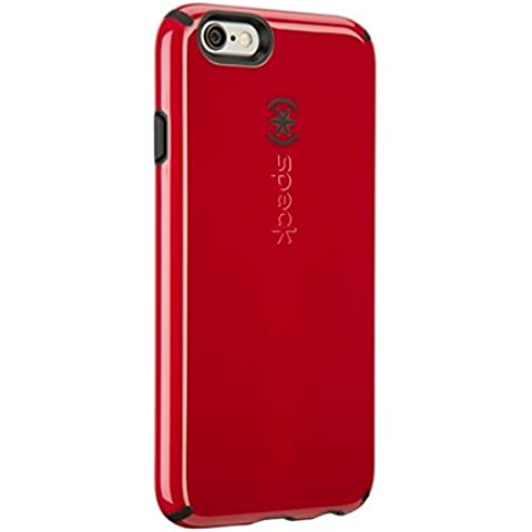 Speck SPK-A3061 CandyShell FacePlate Custodia per Apple iPhone 6, Rosso/Nero