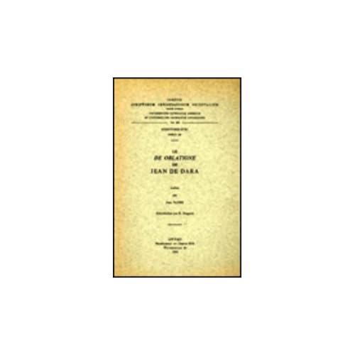 Le De Oblatione De Jean De Dara. Syr. 133.