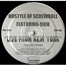 Live From New York / 3 The Hard Way [Vinyl Single 12'']