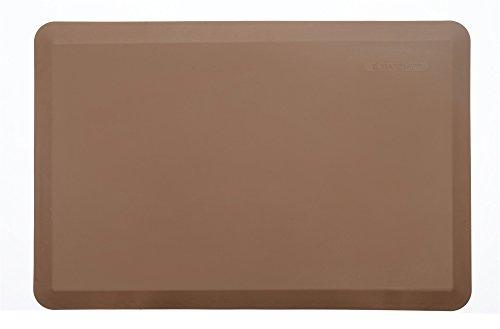 Maxmat - Tappetino da cucina anti-fatica, 81,3 x 50,8 cm, spessore 2 cm 24 * 36 * 0.8 Marrone chiaro