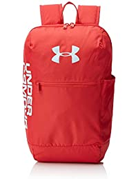 Under Armour UA Patterson Backpack Mochila, Unisex Adulto, Rojo Barn/Coded Blue 633, Talla única