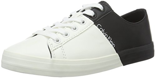 calvin-klein-jeans-womens-wanda-matte-smooth-smooth-low-top-sneakers-multicolor-bwy-65-uk