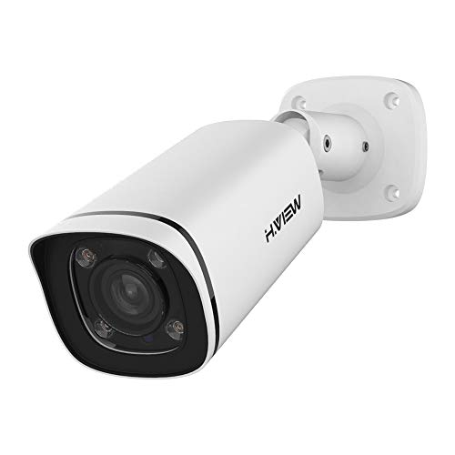 8 MP PoE Kamera IP Sicherheitkamera(3264 x 2448P) mit 4x Optischer Zoom 2,8mm-12mm Motorisierter Zoom und Fokus Indoor/Outdoor IP67 Wetterfest Onvif Netzwerk Überwachungskamera IR Nchtsicht(DE805G2)