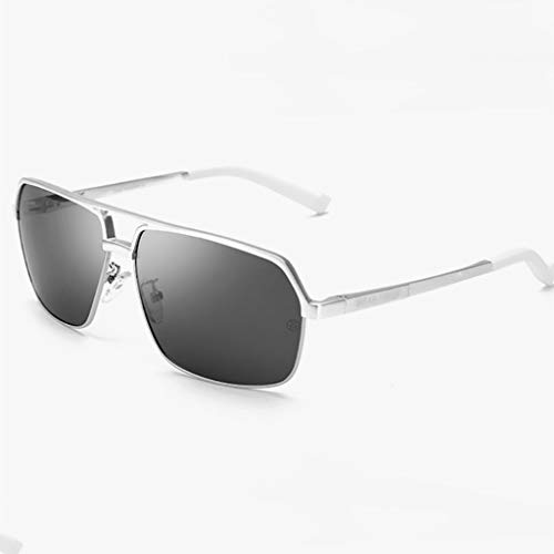 KISlink Sonnenbrille Herren Damen Aviator Polarisierte Sonnenbrille UV-Schutz Brillen (Farbe: D)