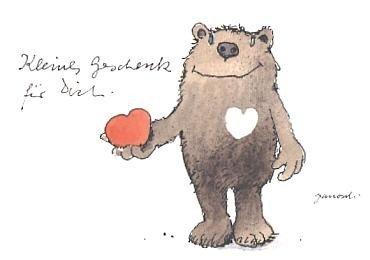 Postkarte Janosch Kleines Geschenk