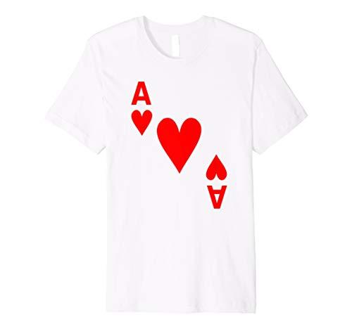 Kartenspiel Karte Herz As tshirt Karten Shirts