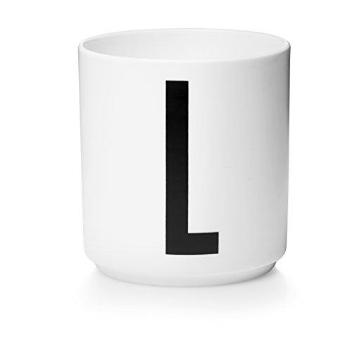 Design Letters - Becher - Buchstabentasse - Buchstabe: L - Porzellan - Arne Jacobsen (Buchstaben L-becher)