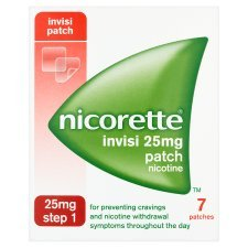 Nicorette Invisi Patch 25mg- 7 patches - Step 1 by Nicorette