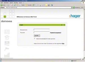 Preisvergleich Produktbild Hager TJ550 Fernzugriff für Domovea