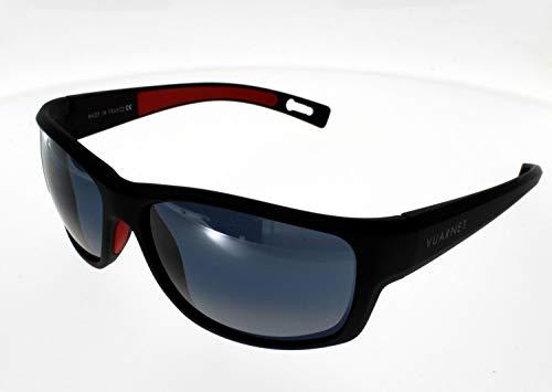 Vuarnet occhiali da sole VL 15210001plastica acetato nero opaco grigio polarizzato