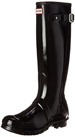 Hunter Unisex Original Gloss Wellies Black W23616 4