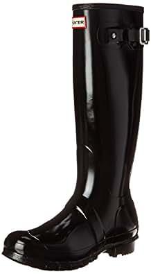 Hunter Original Gloss, Bottes Femme, Noir, 35/36 EU