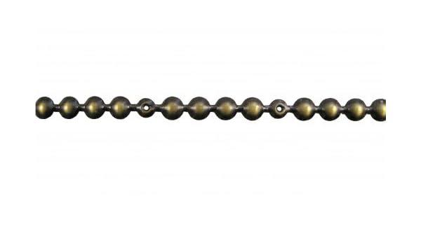 10 Meter Ziernagelstangen silber nickel 11 mm 130 1//3