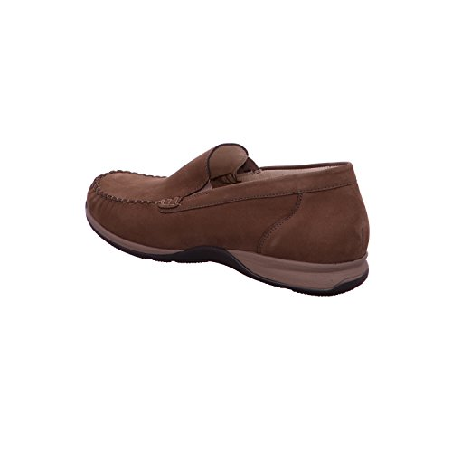 Waldläufer 526502-191-046 Herko hommes Slipper largeur H brunes