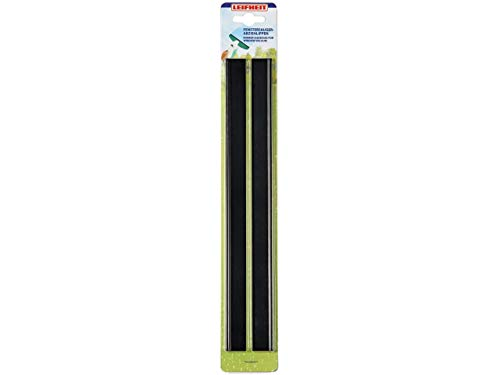 Leifheit 51160-Set Boquilla Aspirador limpiacristales, Acero Inoxidable, 1x0.9x36 cm