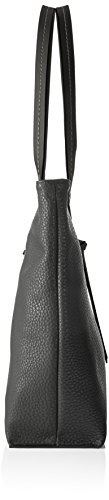 Tom Tailor Acc Damen Ellen Schultertasche, 10 x 29 x 41 cm Grau (Grau)