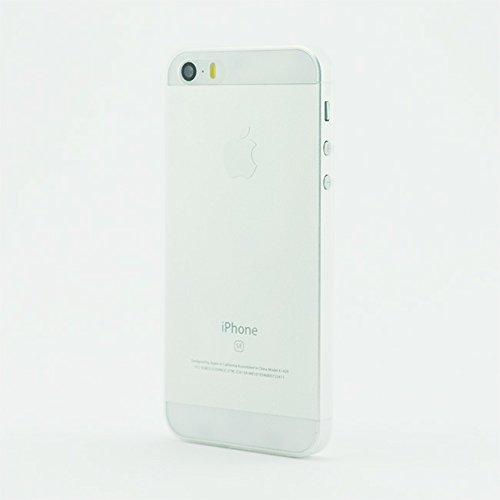 chimpcase iPhone 7 Skinny Case frosty schwarz - Die dünnste iPhone Hülle der Welt - extra Grip Oberfläche - ultraleichte iPhone Schutzhülle Bumper Cover frosty transparent (Mid 2016)