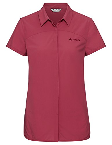 VAUDE Damen Women's Skomer Shirt II Bluse, red Cluster, 36 -