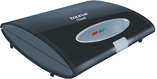 Taurus I-toast 700-watt Sandwich Toaster (black)