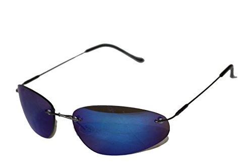 Emeco Lunettes de pilote bleu miroir 3210RVS lUFJaeBjl