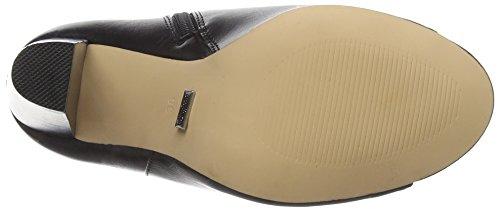 BuffaloSH015E-62 P1735A PU - Stivali classici imbottiti a mezza gamba Donna Nero (Schwarz (BLACK 98))