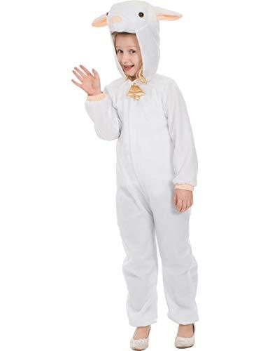 (Kinder Kleines Lamm Schafe Weihnachtskrippe Tier Kostüm Verkleidung Large)