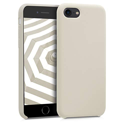 kwmobile Apple iPhone 7/8 Hülle - Handyhülle für Apple iPhone 7/8 - Handy Case in Creme