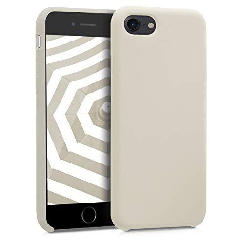kwmobile Apple iPhone 7/8 Hülle - Handyhülle für Apple iPhone 7/8 - Handy Case in Creme