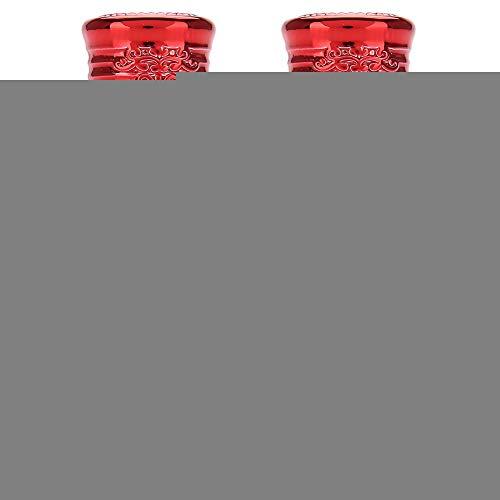 2 Stück Mini leere Glas Roller Öl Flasche 10ml / 12ml(10MLRed) - Spray-2 Unzen-flüssigkeit