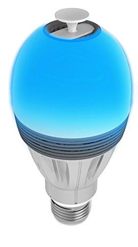 AwoX AromaLIGHT Color AL-BC7 Diffusore di Aromi Controllabile con Bluetooth 4.0, Grigio/Argento
