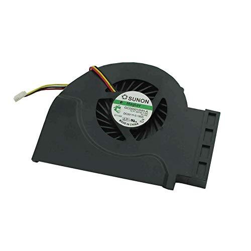 Generic Ersetzen Sie den CPU-Lüfter des Laptops für Lenovo IBM Thinkpad T510 W510 P/N:GC055010VH-A MF60120V1-C181-S9A MG62090V1-Q030-S99 (T510-lüfter Thinkpad)