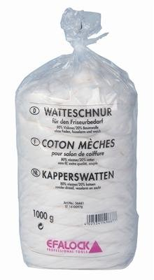 Efalock Professional Weschnur 80 prozent Viskose 20 prozent Baumwolle, 1er Pack, (1x 1 kg) -