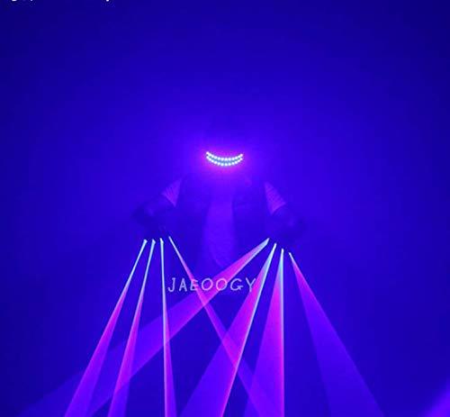 guanti laser XIBAO Guanti da Mano Illuminati