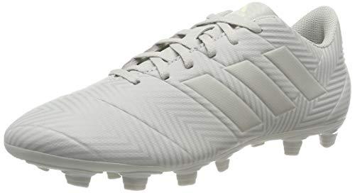 adidas Nemeziz 18.4 FxG, Zapatillas de Fútbol para Hombre, Gris (Ash F18/Ash Silver F18/White Tint S18), 42 EU