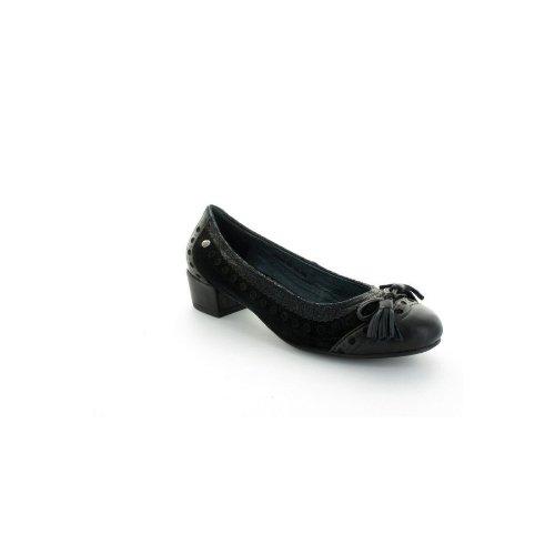Ballerines Noires Couleur Pourpre 654 Noir