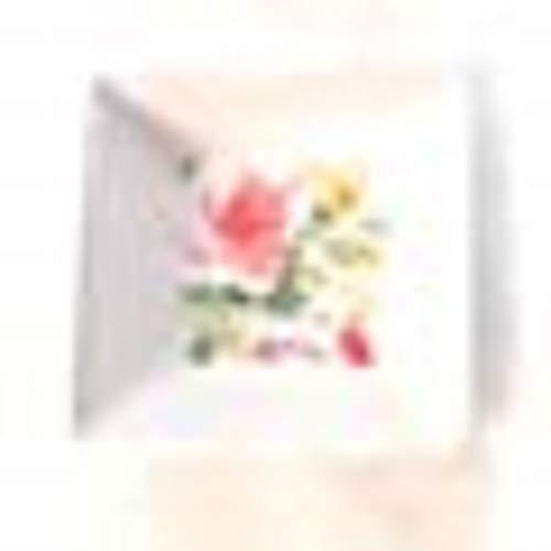 Orval Créations Lot de 2 Coupelles Cottage - Motif Fleurs - en céramique