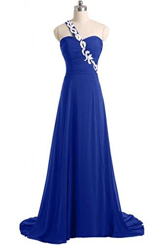 Sunvary A spalle-Line Sweetheart abiti da sera o da cerimonia, con diamanti Blu
