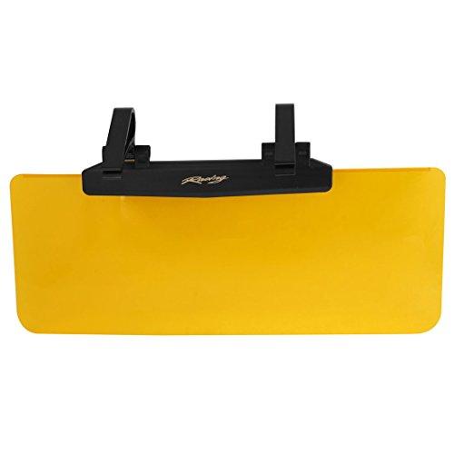 sourcingmap 36cm x 14.5cm Orange klar Kunststoff Windschutzscheiben Auto Fenster Farbton